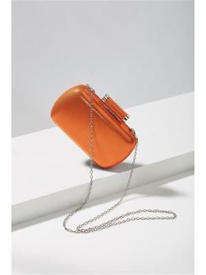 Клатч футляр Бэль Мадемуазель со съемной цепочкой Nothing but Love. Цвет: оранжевый