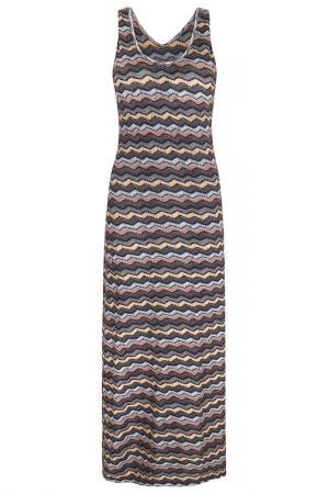 Платье Iska. Цвет: серый