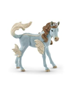 Королевский жеребец Айла SCHLEICH. Цвет: голубой