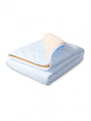 Плед-одеяло Барашек Сонный гномик. Цвет: голубой