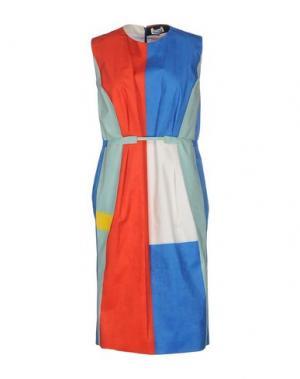 Платье до колена ARTHUR ARBESSER. Цвет: лазурный