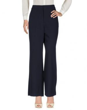 Повседневные брюки SWEET SECRETS. Цвет: темно-синий