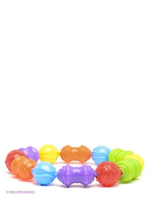 Playgro игрушка-цепочка. Цвет: красный, оранжевый, синий