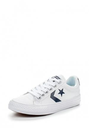 Кеды Converse. Цвет: белый