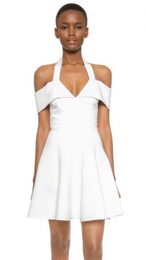 Платье N/ Nicholas. Цвет: белый