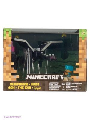 Игровой набор Стив против Дракона Mattel. Цвет: зеленый, черный