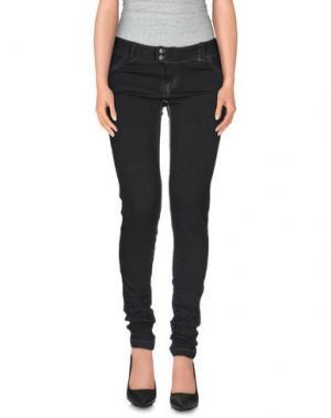 Повседневные брюки CLARK JEANS. Цвет: черный