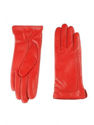 Перчатки женские Piero. Цвет: красный