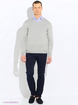 Свитер United Colors of Benetton. Цвет: серый, серебристый, кремовый