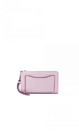 Компактный бумажник recruit Marc Jacobs. Цвет: бледно-лиловый