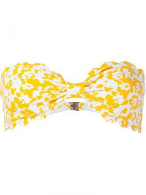 Купальник бикини Marysia. Цвет: жёлтый и оранжевый
