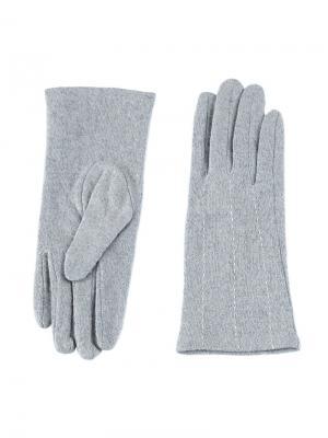 Перчатки Sabellino. Цвет: серо-голубой