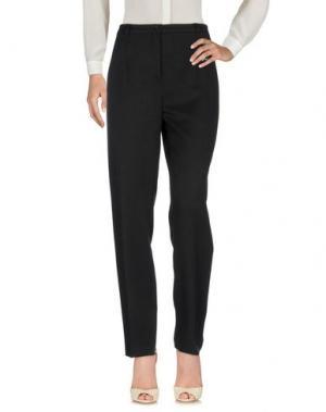 Повседневные брюки LIZALU'. Цвет: черный