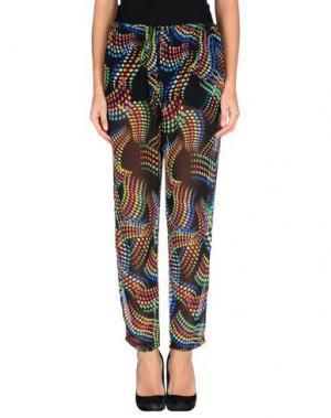Повседневные брюки AMY GEE. Цвет: черный