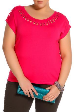Блузка HEY. Цвет: розовый