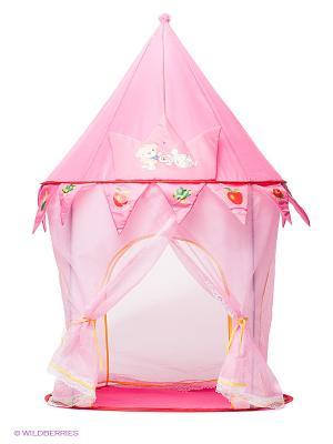 Палатка игровая Сказочная Наша Игрушка. Цвет: розовый, белый