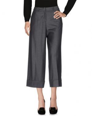 Повседневные брюки LALA BERLIN. Цвет: серый