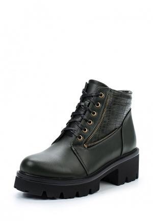 Ботинки Zenden Woman. Цвет: зеленый