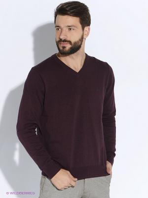 Пуловер Forecast. Цвет: бордовый