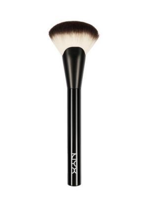 Профессиональная кисть для создания макияжа без PRO BRUSH - FAN 06 NYX PROFESSIONAL MAKEUP. Цвет: черный