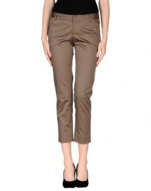 Повседневные брюки FABRIZIO LENZI. Цвет: хаки