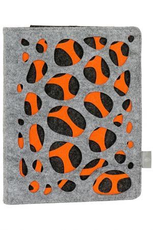Ipad-/Tablet PC cover Burgmeister. Цвет: gray and orange