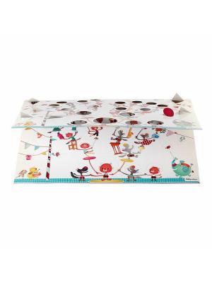 Цирк Шапито: Семейное древо, мини фото- альбом Lilliputiens. Цвет: белый, зеленый