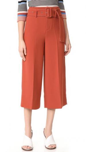 Широкие брюки Edition10. Цвет: chutney