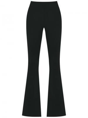 Knit flare trousers Cecilia Prado. Цвет: чёрный