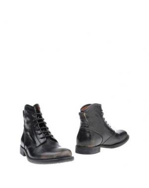 Полусапоги и высокие ботинки SMITH'S AMERICAN. Цвет: черный