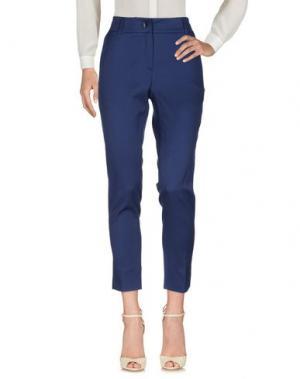 Повседневные брюки MOUCHE. Цвет: темно-синий