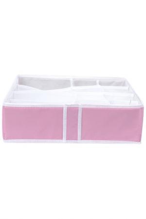 Органайзер 12 секций HOMSU. Цвет: розовый