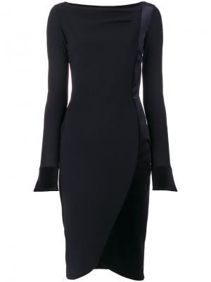 Fitted dress Chiara Boni La Petite Robe. Цвет: чёрный
