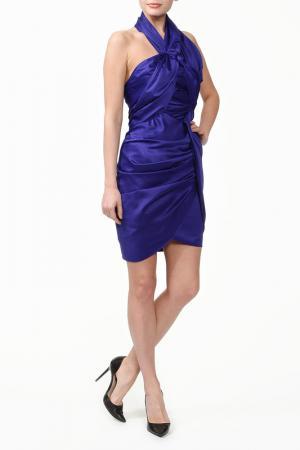 Платье CAMILLA AND MARC. Цвет: синий