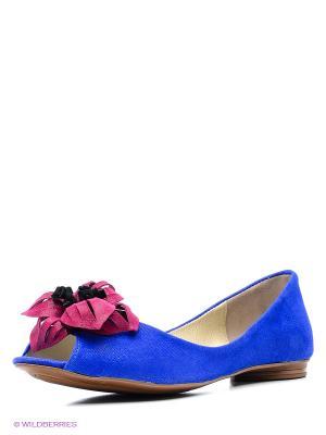 Балетки Grand Style. Цвет: синий, лиловый