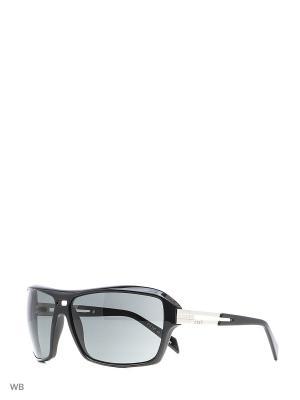 Солнцезащитные очки EX 750 01 EXTE. Цвет: черный
