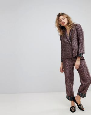 Maison Scotch Пижамные брюки. Цвет: мульти