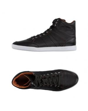 Высокие кеды и кроссовки JIM RICKEY. Цвет: темно-коричневый