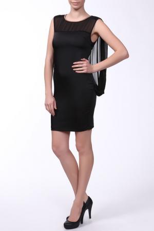 Платье Mon Cheri. Цвет: черный