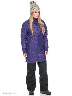 Куртка DOWN JACKET ASICS. Цвет: фиолетовый