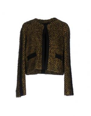Пиджак CARLA MONTANARINI. Цвет: желтый