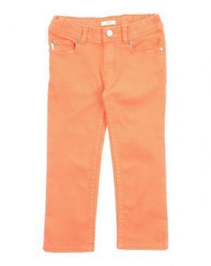 Джинсовые брюки PAUL SMITH. Цвет: оранжевый