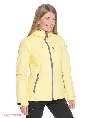 Куртки Tenson. Цвет: желтый