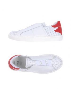 Низкие кеды и кроссовки NBR¹. Цвет: белый