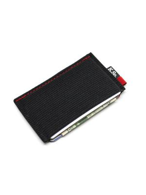 Мини кошелек кардхолдер K.So.U-Six K.So.. Цвет: черный, красный