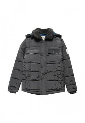 Куртка утепленная Sela. Цвет: серый