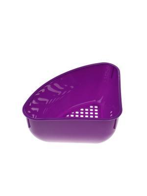 Органайзер для губок Migura. Цвет: фиолетовый