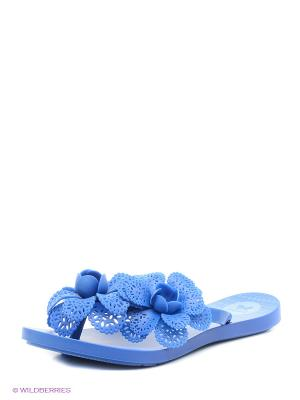 Шлепанцы ZAXY. Цвет: синий