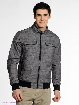 Куртка CONVER. Цвет: серый, синий