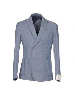 Пиджак BARBATI. Цвет: грифельно-синий